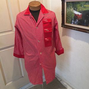 Weldon Intimates & Sleepwear - Vintage Weldon Flirt Shirt Flannel Pajamas Small